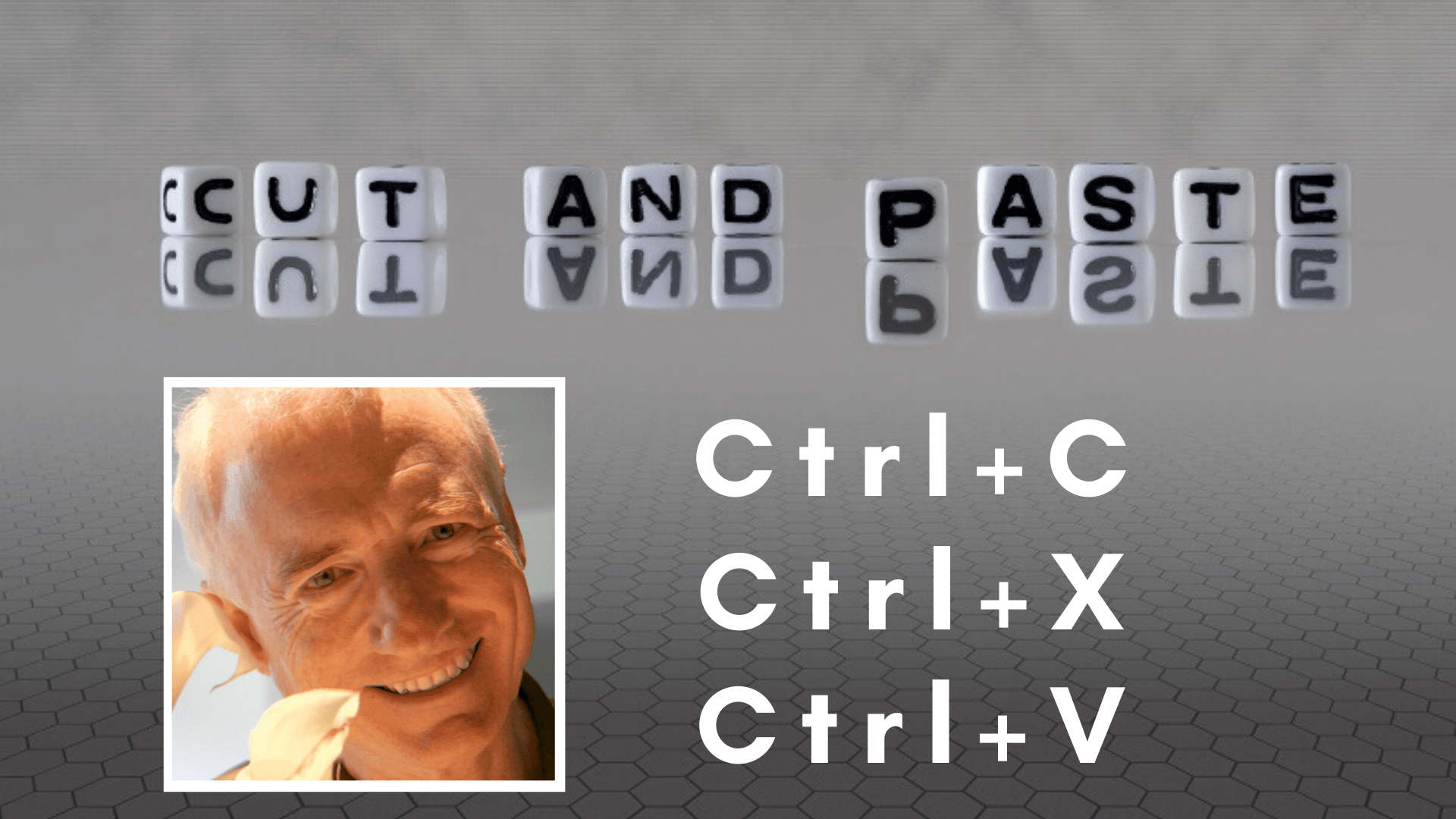 Larry Tesler, the cut and paste king, has died