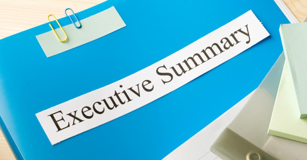 Marketing Plan Executive Summary